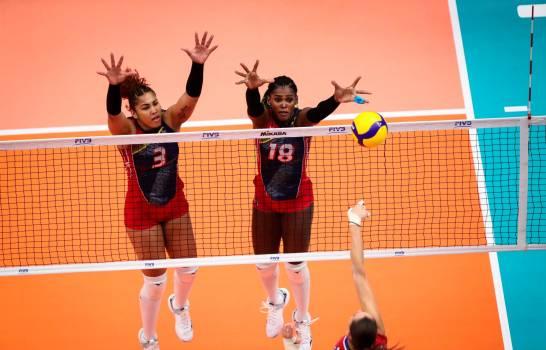 Las Reinas del Caribe pierden 3-2 de Rusia en la Copa Mundial
