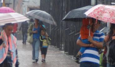 Onamet: Vaguada provocará aguaceros en la porción central del país