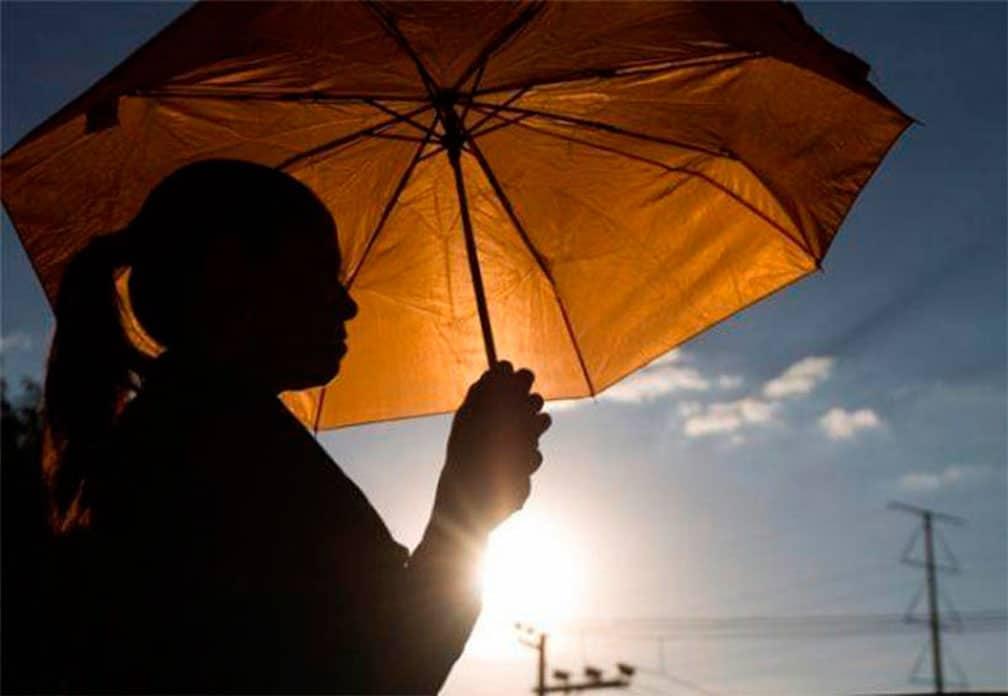Onamet: Bajas probabilidades de lluvias en gran parte de RD; temperatura calurosas
