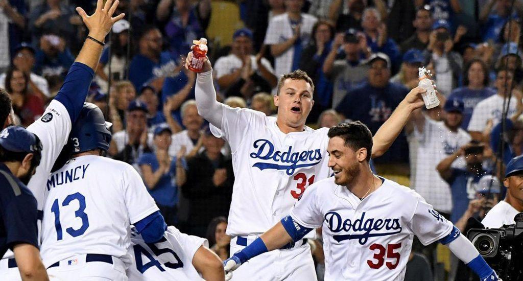 Dodgers ganan su séptimo título de la División Oeste