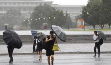 Un potente tifón deja cinco muertos y tres heridos en Corea del Norte