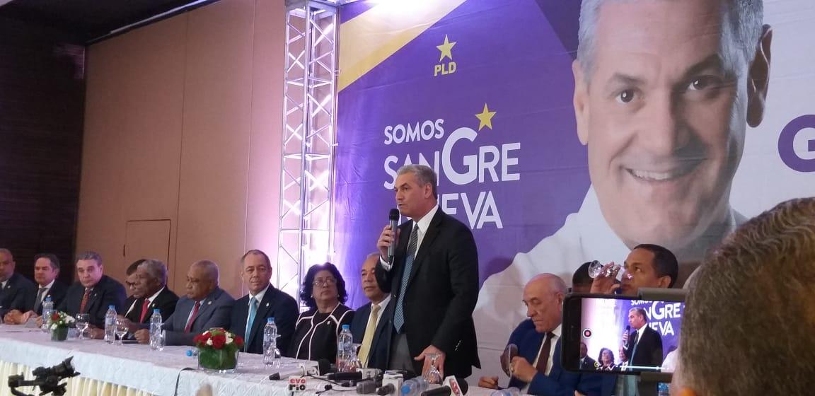 Senadores danilistas expresan respaldo a precandidato presidencial Gonzalo Castillo