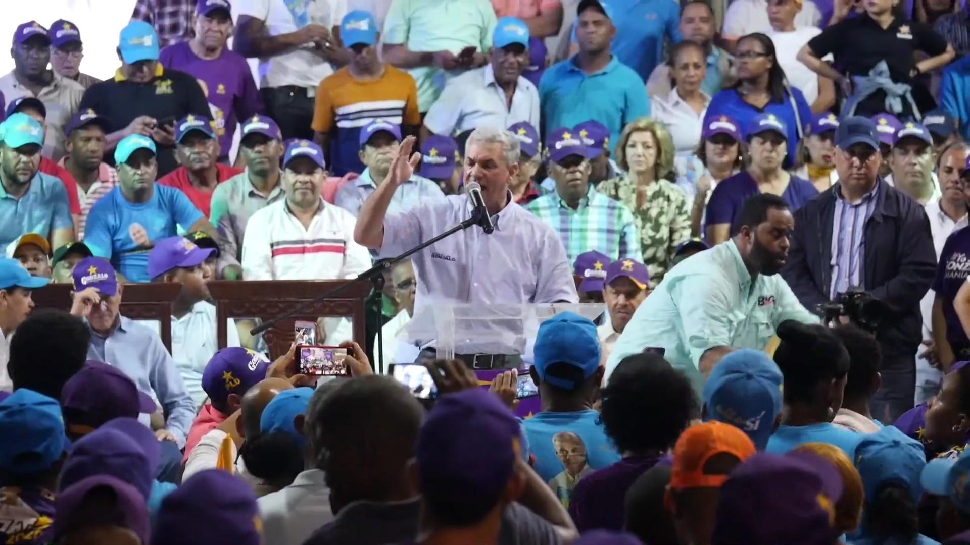 Gonzalo Castillo asegura será el candidato del PLD por ventaja en las encuestas