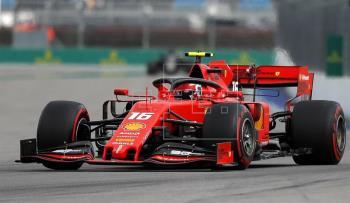 Leclerc y Vettel ponen a Ferrari al frente en los Libres 3