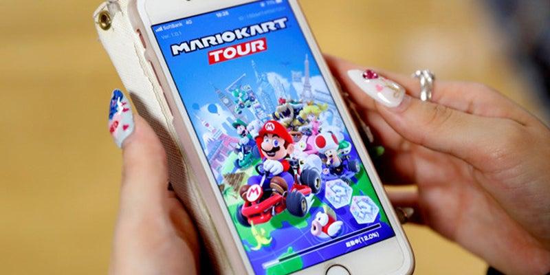 Mario Kart llega por primera vez a todos los dispositivos móviles