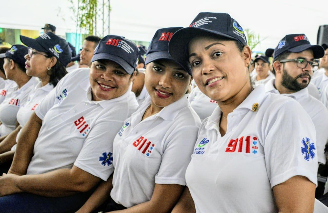 Presidente Medina deja en funcionamiento sistema 9-1-1 en provincia Duarte