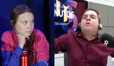 Locutor brasileño es despedido por ofensas al aire contra Greta Thunberg