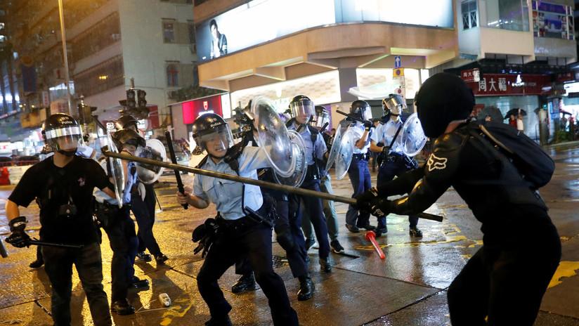 Los detenidos por las protestas en Hong Kong suman ya las 1.117 personas
