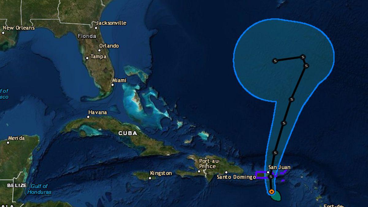 Karen se aleja de Puerto Rico pero siguen sus lluvias y Lorenzo es ya huracán