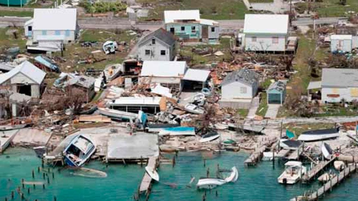 Sube a 58 la cifra oficial de muertos por el huracán Dorian en Bahamas