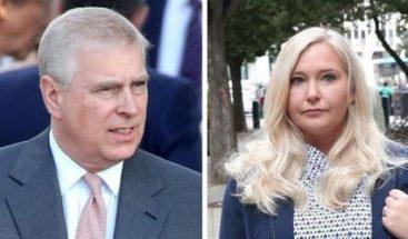 Víctima de Epstein acusa a príncipe Andrés de abusar de ella con 17 años
