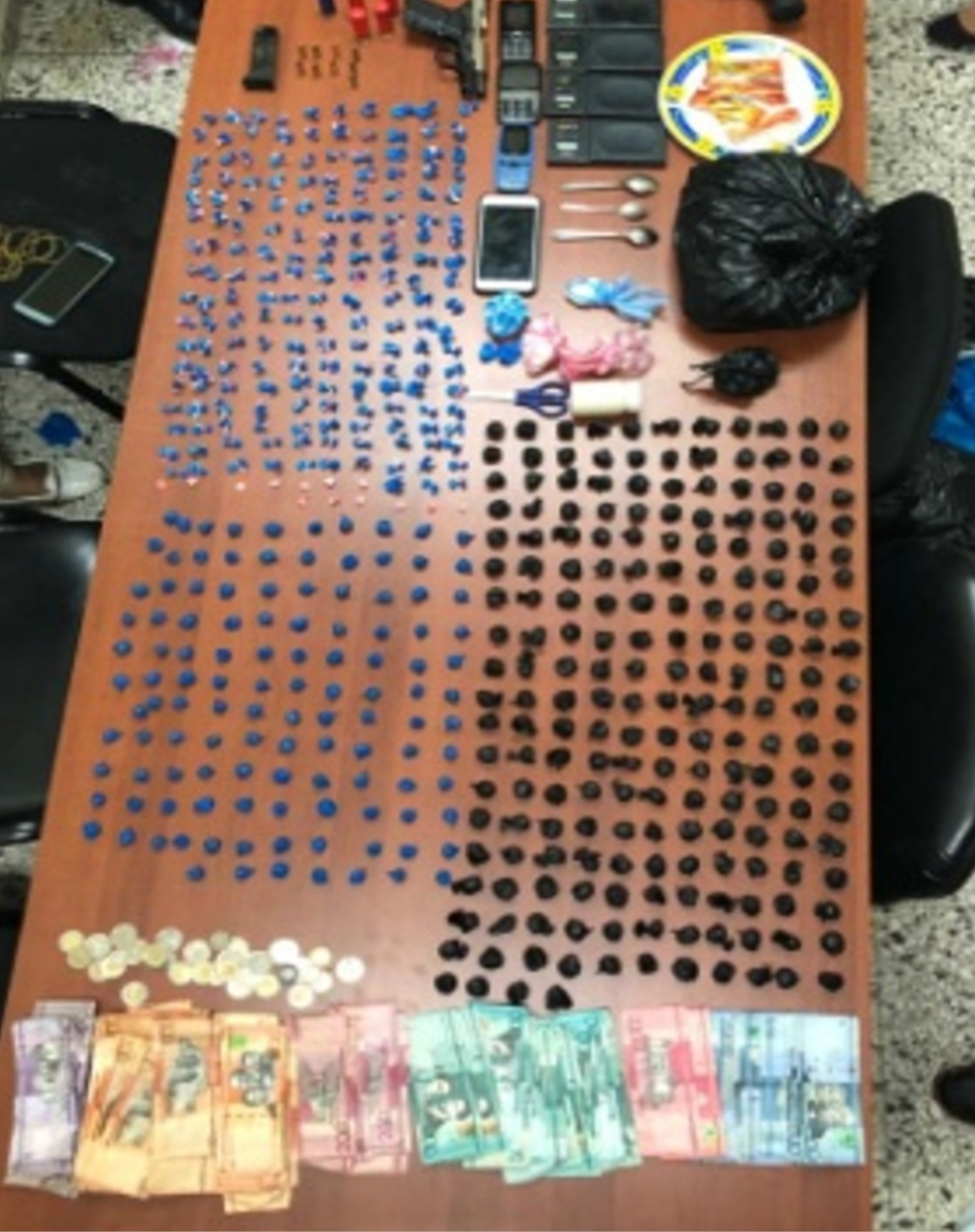 Ocupa másde 143,251.87 gramos en porciones de cocaina, crack y marihuana en diferentes allanamientos
