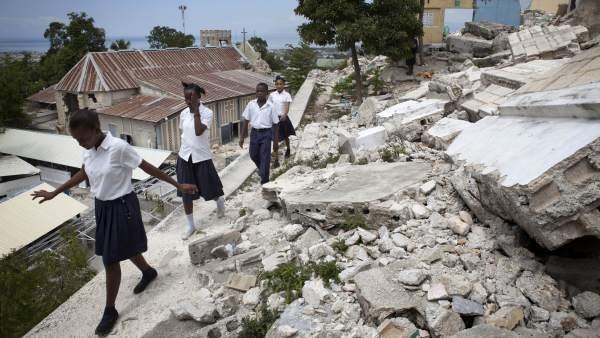 Un documental denuncia la situación de Haití nueve años después del terremoto