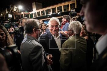 Los socialistas ganan en Portugal con amplia ventaja tras 35 % del escrutinio