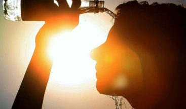Onamet: Temperaturas calurosas y chubascos en la tarde