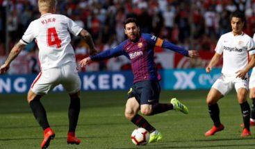 El Barça vuelve a remontar, pero con Messi en acción y con Suárez de goleador