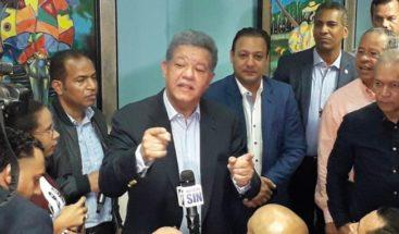 Leonel no apoya uso del voto automatizado en elecciones del 2020