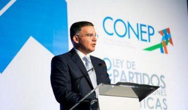 CONEP reconoce al pueblo dominicano y felicita a Luis Abinader
