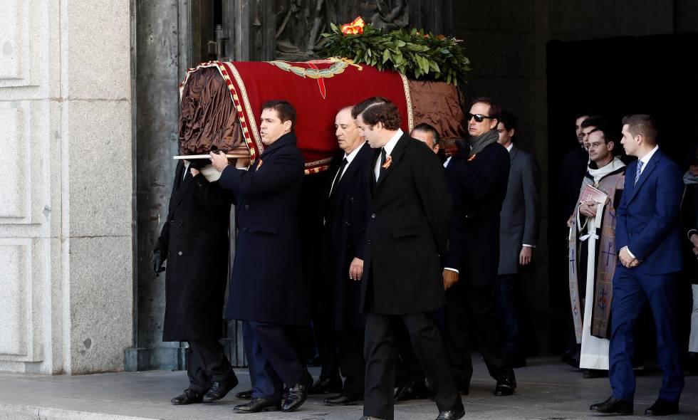 Franco yTrujillo descansarán juntos en elcementerio de El Pardo