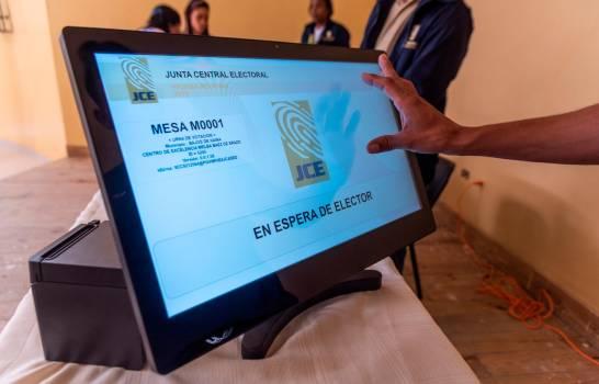 Hoy se escogen candidatos de PRM y PLD en primarias con voto automatizado
