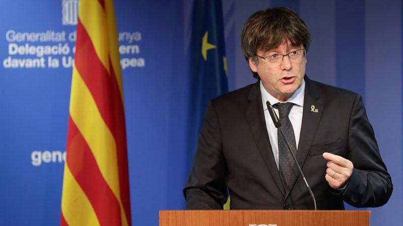 Puigdemont cree que sentencia del Supremo confirma la estrategia de represión