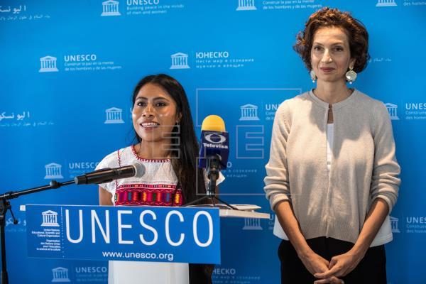 Yalitza Aparicio luchará por los indígenas como nueva embajadora de la Unesco