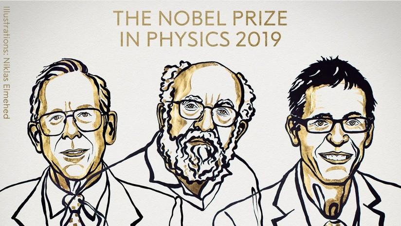 Nombran a los ganadores del Premio Nobel de Física por sus hallazgos en la cosmología