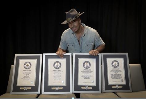 Romeo Santos se estrena como recordista oficial de Guinness World Records