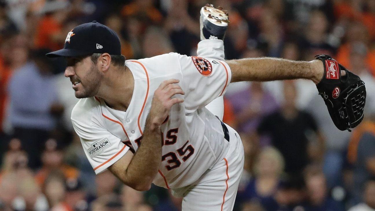 Verlander buscará romper mala racha y dar título a Astros de Houston