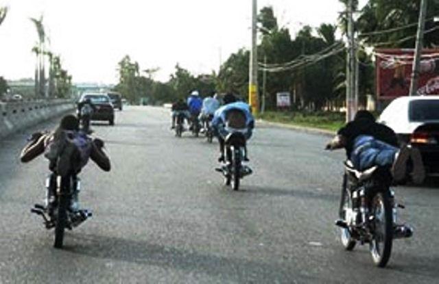 Policía Nacional retiene 15 motocicletas utilizadas para realizar carreras clandestinas en Santiago