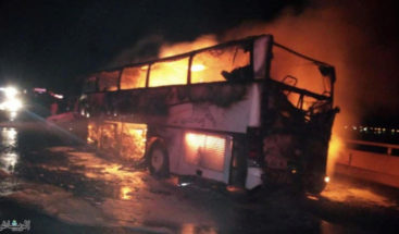 Al menos 35 expatriados mueren en un accidente de autobús en Arabia Saudí