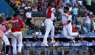 Leones logran segunda victoria y marchan primero en béisbol dominicano