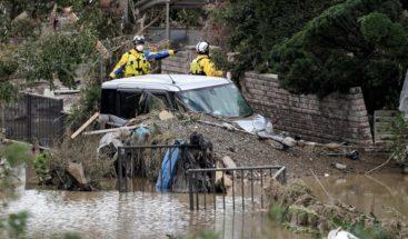 Japón cuenta 68 muertos por el tifón y sigue buscando a 15 desaparecidos