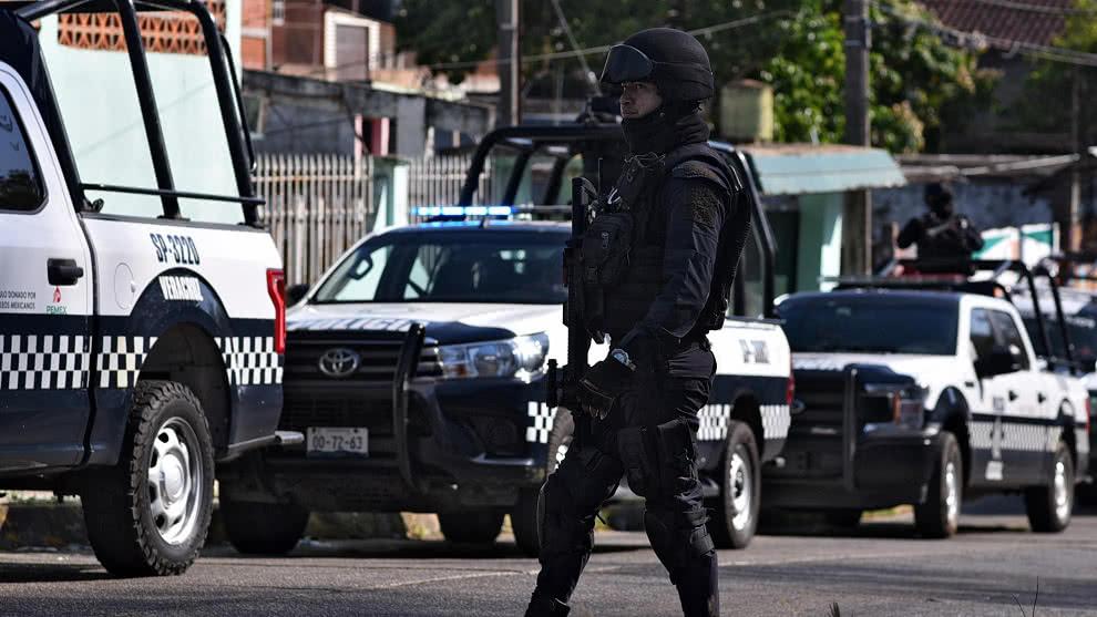 Asesinan a 14 policías en un ataque armado en el oeste de México