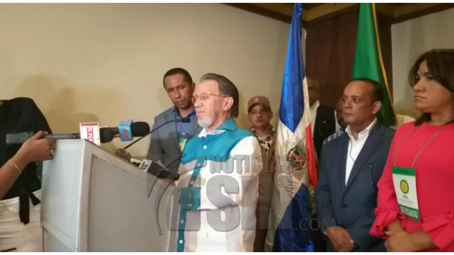 Aristy Castro: Aunque Gonzálo Castillo es un gran amigo, todavía el PLR no ha definido si continuará aliado al PLD