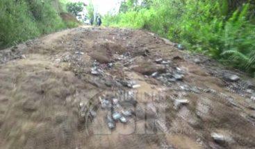 Comunidades de Dajabón reclaman a las autoridades arreglo de carreteras