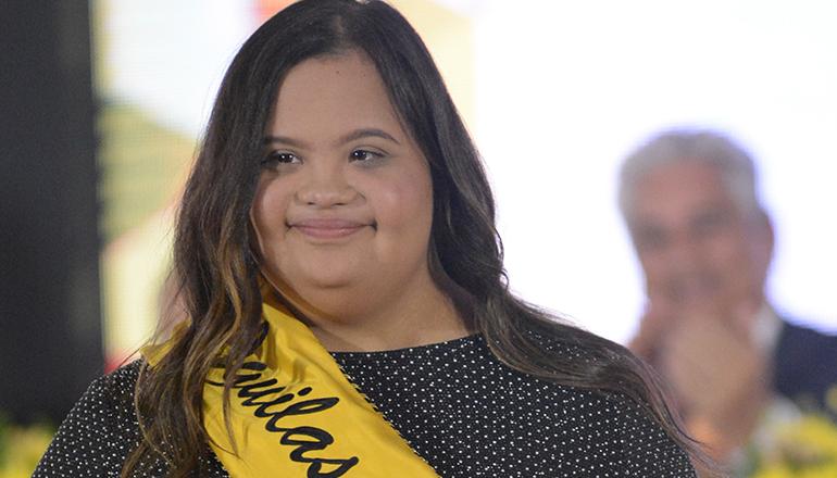 Maria Laura Vásquez la nueva madrina de Águilas Cibaeñas
