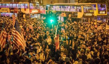 La Cámara Baja de EE.UU. aprueba ley de DDHH y democracia de Hong Kong