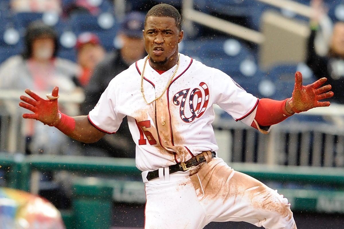 El dominicano Robles hizo sentir su vuelta con los Nacionales