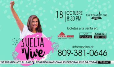 """""""Suelta y Vive"""", conferencia con la Dra Fondeur que busca orientar a las mujeres"""