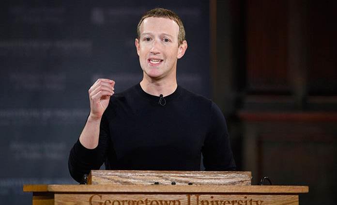 Zuckerberg defiende que Facebook publique anuncios con declaraciones falsas