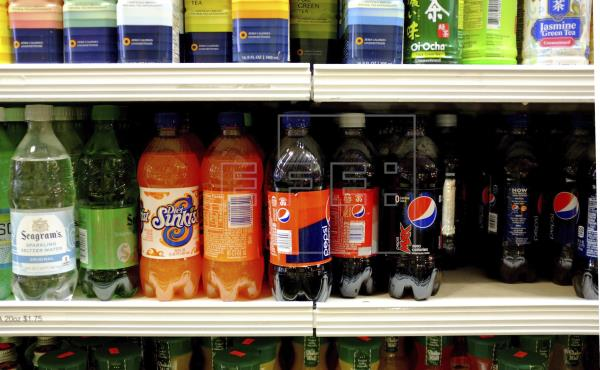Las bebidas azucaradas para niños representan el 62 % de las ventas en EE.UU.