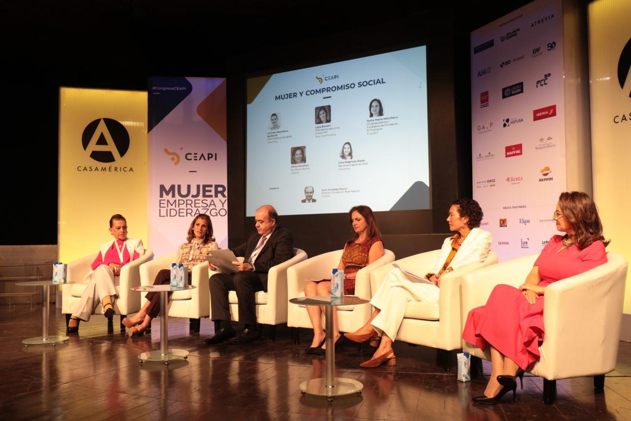 Ligia Bonetti diserta en panel de mujeres empresarias iberoamericanas en Madrid