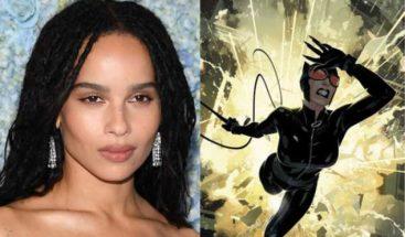 Zoë Kravitz será Catwoman en la cinta de Batman que liderará Robert Pattinson