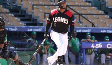 Los Leones vencen 3-2 a las Estrellas y se mantienen en la cima del béisbol dominicano