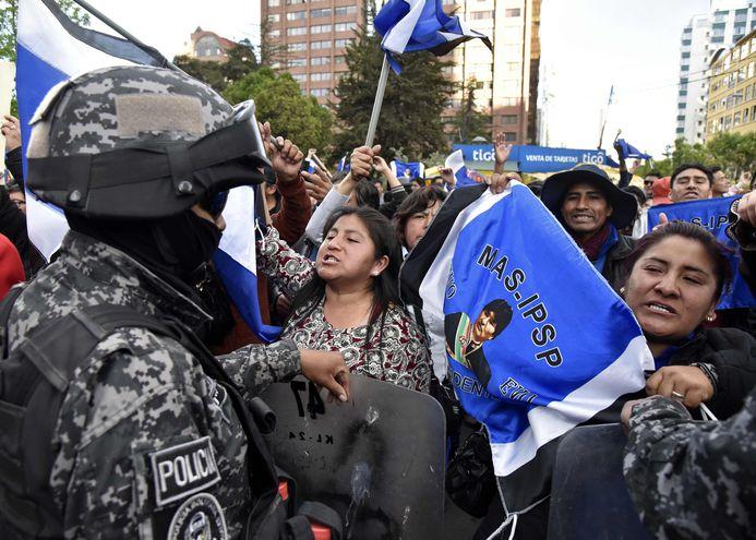 Presidenta del órgano electoral de Bolivia teme por su integridad