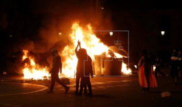 33 detenidos y 96 heridos en los últimos disturbios de Cataluña