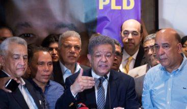 Leonel Fernández demanda al PLD ante TSE; dice ya no tiene sentido conteo de votos