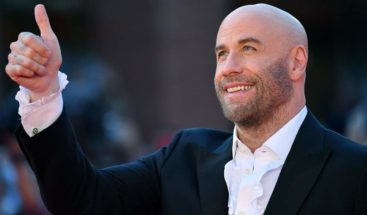 John Travolta recibe el premio de Roma