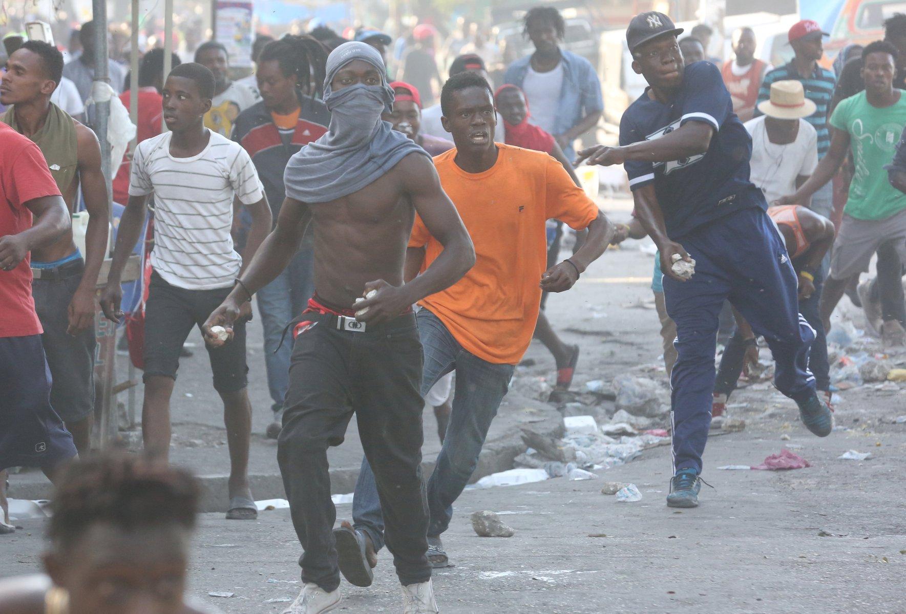 La oposición de Haití anuncia siete días de intensas protestas